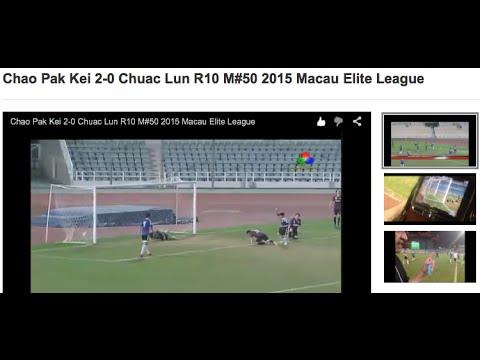 Chao Pak Kei 2-0 Chuac Lun R10 M#50 2015 Macau Elite League