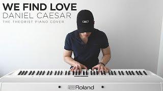 Download Lagu Daniel Caesar - We Find Love | The Theorist Piano Cover Gratis STAFABAND