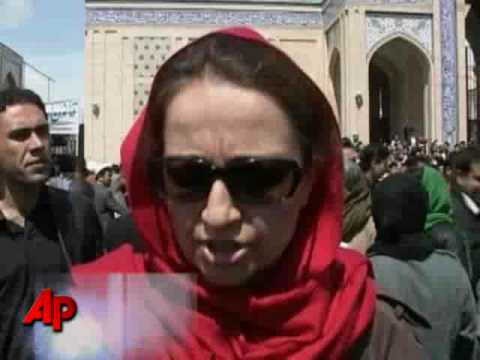 Stones Thrown at Afghan Women Protesters