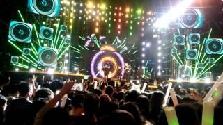 Soobin Hoàng Sơn tại đêm đại hội âm nhạc Viettel