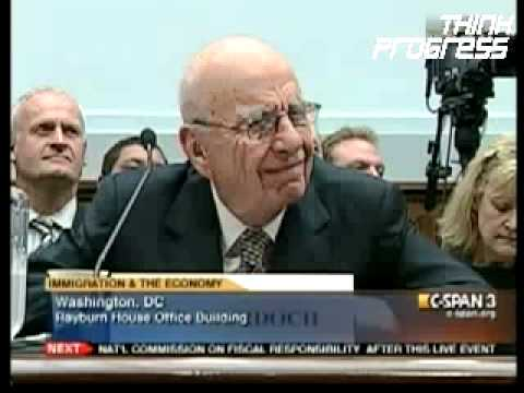 Fox News Owner Rupert Murdoch Calls For Immigration Reform