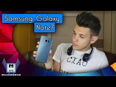 NUOVO Samsung Galaxy Note 7 - ECCOLO!