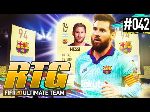 WE GOT MESSI! - #FIFA20 Road to Glory! #42 Ultimate Team