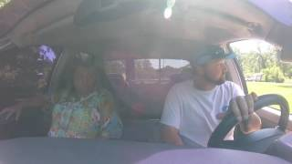 Mom goes for ride in 900HP Dodge Diesel her REACTION is Hilarious!!