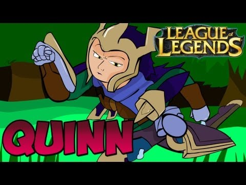 Quinn and Valor Toon + Community Montage Show (League of Legends)