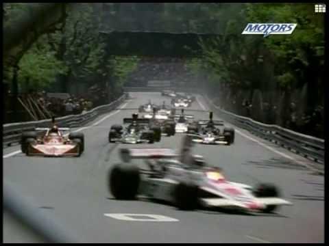 Montjuic 1975 F1 Grand Prix.