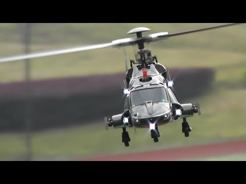 Flight Review - Mini RC Airwolf Walkera 200SD3