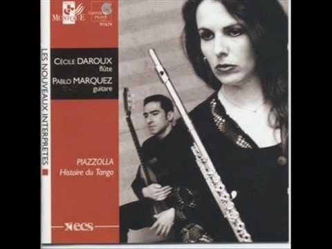Concert d'aujourd'hui - Astor Piazzolla. Cécile Daroux&Pablo Márquez