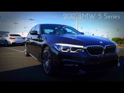 2017 BMW 5 Series 540i M Sport 3.0 L Turbocharged 6-Cylinder Review