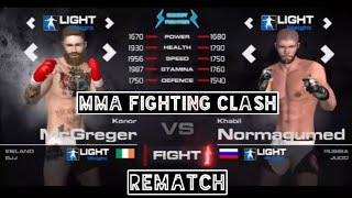 Conor vs Khabib rematch full fight