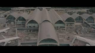 Drone Shots of Mactan-Cebu International Airport Terminal 2