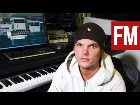Avicii in the studio  - The Making of Dancing In My Head Music Videos