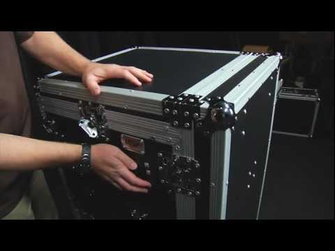 OSP Pro19 16 Space Mixer Amp Road Case for Mobile DJ Portable Sound System w/ 2 Tables Case Review