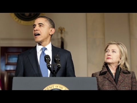 Hillary Clinton tries to mend ties with Obama