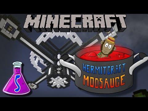 Minecraft Mods - Hermitcraft Modsauce #5 - That's No Moon!
