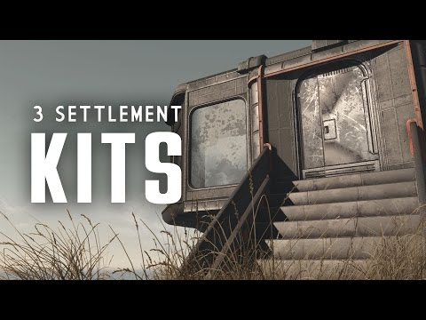 3 Settlement Kits: Brand New Tile Sets - Oxhorn's Mod Muster - Fallout 4 PC Mods