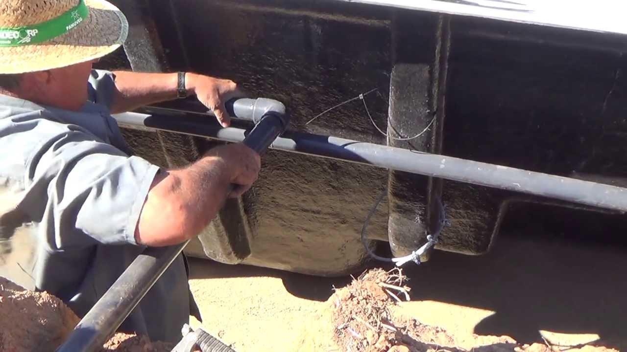 Instalando tubos de aspiraci n expulsi n de piscina parte for Como se hace una pileta de natacion de hormigon