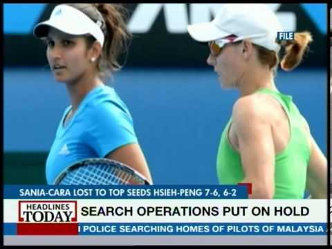 Sania Mirza-Cara Black pair loses Indian Wells open final