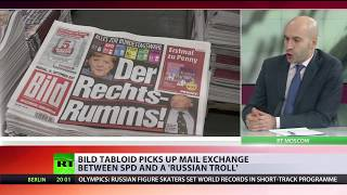 Germany's Bild duped by bogus Russian meddling 'bombshell'