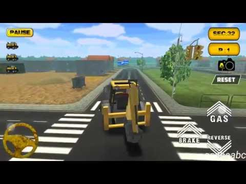 city construction backoe 3D  game rewiew android//