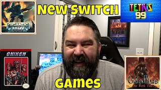 New & Upcoming Classic Nintendo Switch Games