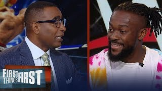 Kofi Kingston talks upcoming SmackDown match against Brock Lesnar & more | WWE | FIRST THINGS FIRST