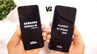 Huawei Y7 Prime 2019 vs Samsung Galaxy J6 Speed Test & Comparison [Urdu/Hindi]