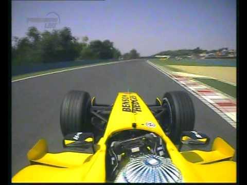 F1 Hungary 2005 Qualifying - Narain Karthikeyan Onboard