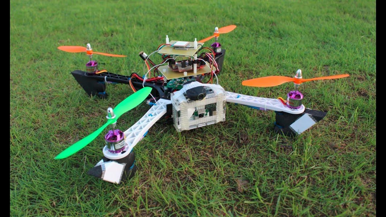 quadcopter with raspberry pi camera