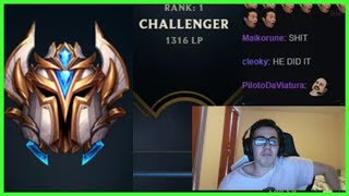 TF Blade Made Rank 1 On EUW in 15 Days! - Best of LoL Streams #555