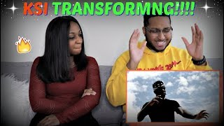 "KSI - ""TRANSFORMING"" (Official Music Video) REACTION!!!!"
