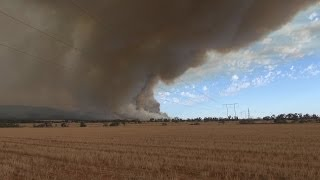 2014 South Australia Flinders Rangers Bush Fire