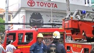 Cháy Toyota An thành ( Clip đầy đủ)