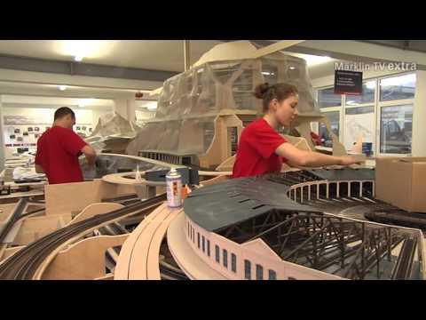 The Building & Contruction of a Massive Märklin Dream Layout