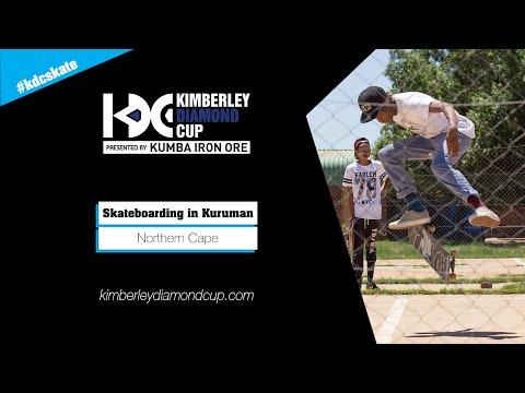 Skateboarding in Kuruman, Northern Cape