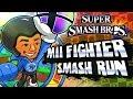 Super Smash Bros 3DS - (1080p) Part 3 - Smash Run w/Mii Fighter