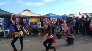 Fresno Hmong New Year 2015-16 - Dancing to Hmong Mix Day 2