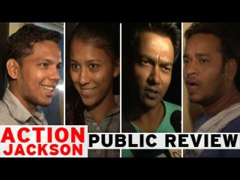 Action Jackson PUBLIC REVIEW   Ajay Devgn, Sonakshi Sinha, Prabhudeva   1.5 stars on 5