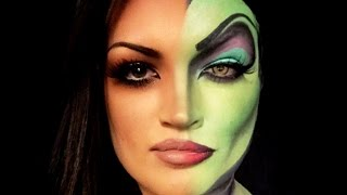 Woman Turns Into Disney Villains - Amazing Makeup Transformation