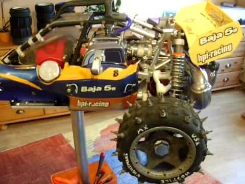 HPI Baja 5B SS mit  Montagestnder