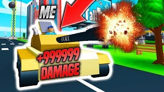 I Bought The *INSANE* TANK In DEMOLITION SIMULATOR! (Roblox)