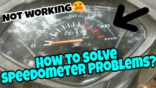 How to solve speedometer Problems in motorcycle's and scooters | Honda Activa 3g
