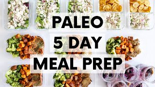 HEALTHY 5-DAY MEAL PREP