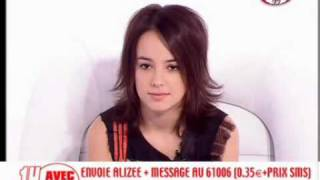 Alizée - Fun TV 3 video
