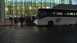 Bus carrying 'yellow vest' protesters depart for Paris