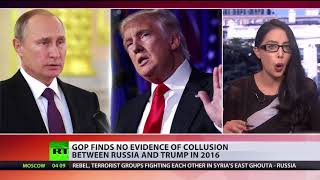 No Trump-Russia collusion found by House intel probe