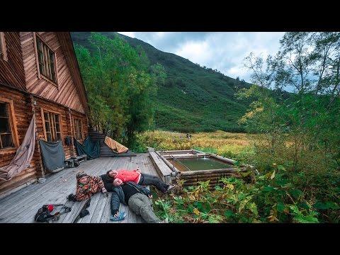 Заброшенные горячие источники на Камчатке.