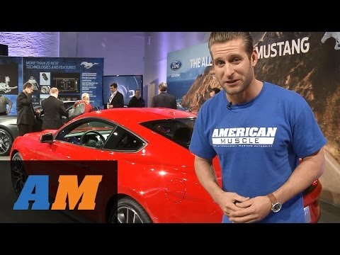 EXCLUSIVE: 2015 Ford Mustang Reveal with AmericanMuscle.com