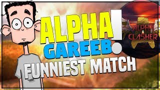 FUNNIEST MATCH BY ALPHA AND GAREEB || TROLLING ULTRA PRO PLAYERS IN PUBG MOBILE!!