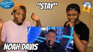 "Download Lagu Noah Davis Plays Piano to Rihanna's ""Stay"" for His Idol Audition - American Idol 2018  (REACTION) Gratis STAFABAND"
